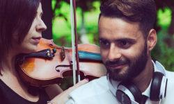 3D eventi - collage artisti - dj violino