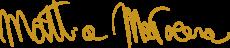 Firma Mattia oro